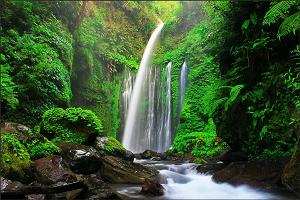 Водопад Air Terjun Tiu Kelep