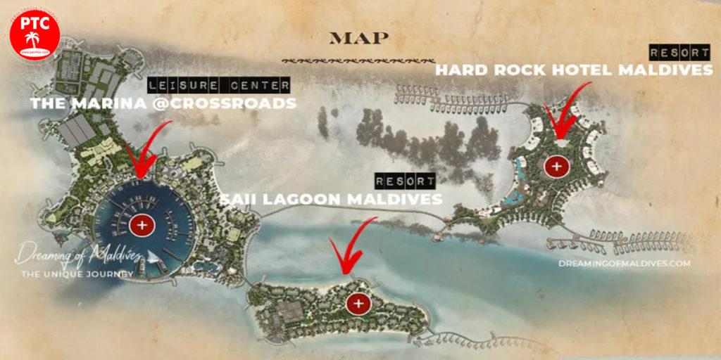 Карта CROSSROADS Maldives