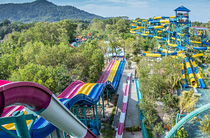 Escape Park Penang. Малайзия.
