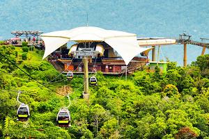 Канатная дорога Лангкави. Малайзия.