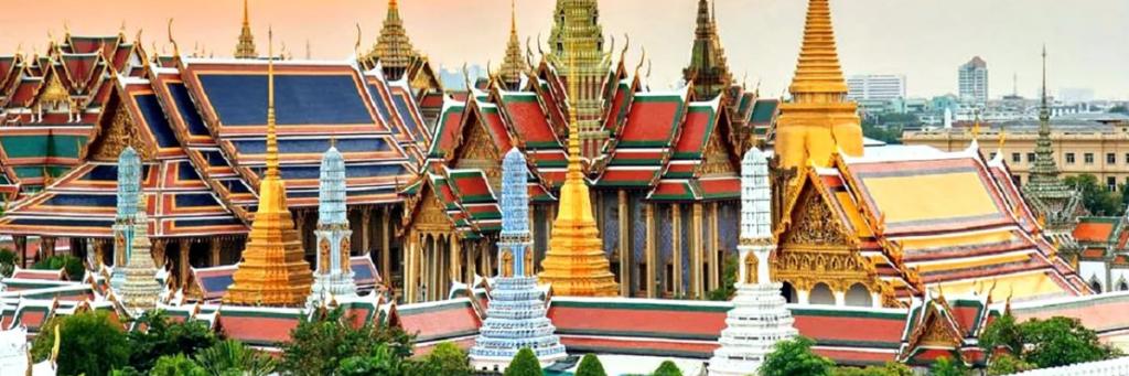 Большой королевский дворец в Бангкоке.