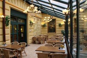 Havelská Koruna. Рестораны Праги.