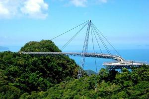 Небесный мост. Лангкави. Малайзия.