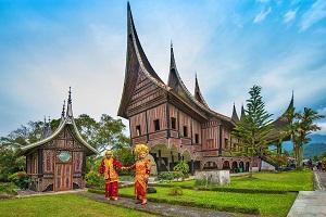Племя Минангкабау. Остров Суматра, Индонезия.