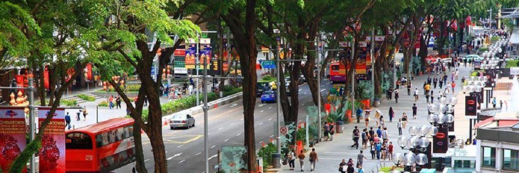 Orchard Road, Сингапур. Сингапур Бали тур.