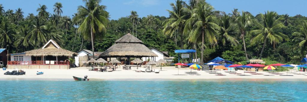Отдых на Перхентианских островах. Малайзия.
