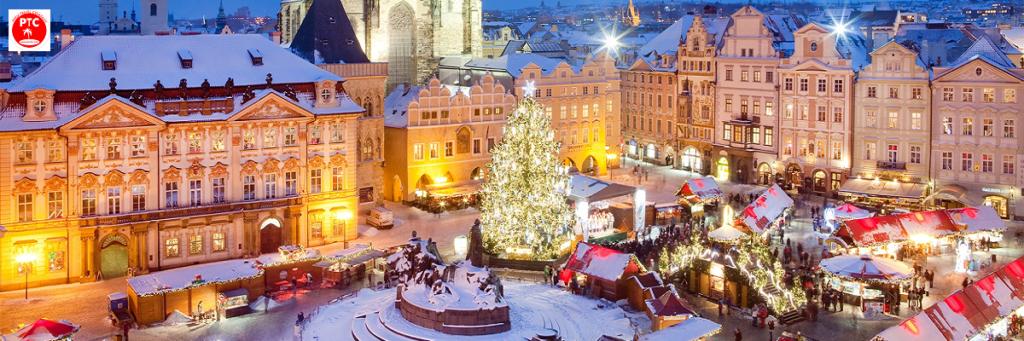 Чехия туры 2020. Прага зимой.