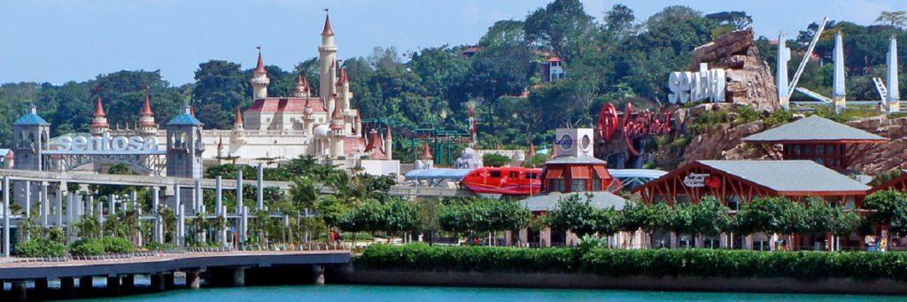 Сентоза - остров развлечений. Сингапур.