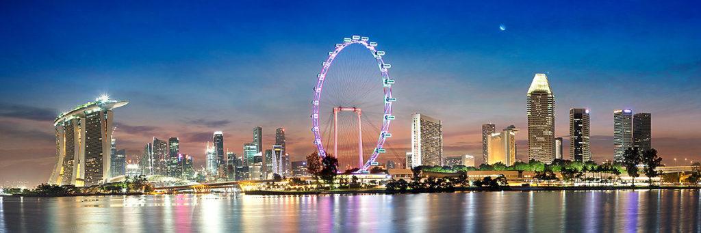 Туры Сингапур Бали: колесо обозрения в Сингапуре