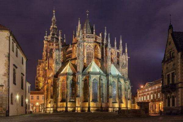 Туры в Прагу. Собор святого Вита.