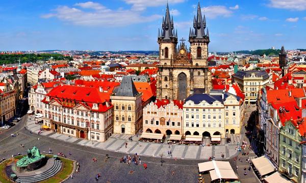 Туры в Прагу. Старый город.