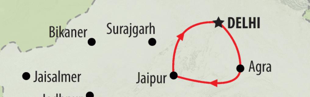 Золотой треугольник Индии.